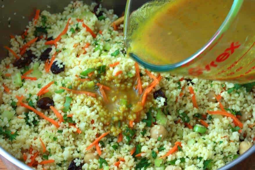 Curried Couscous Salad prep 8