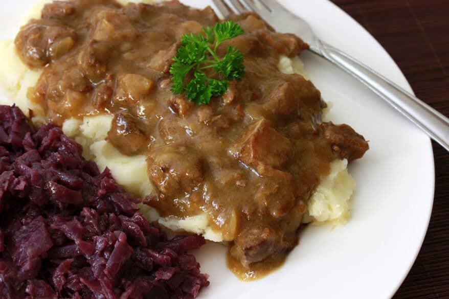 Hachee Dutch Beef and Onion Stew