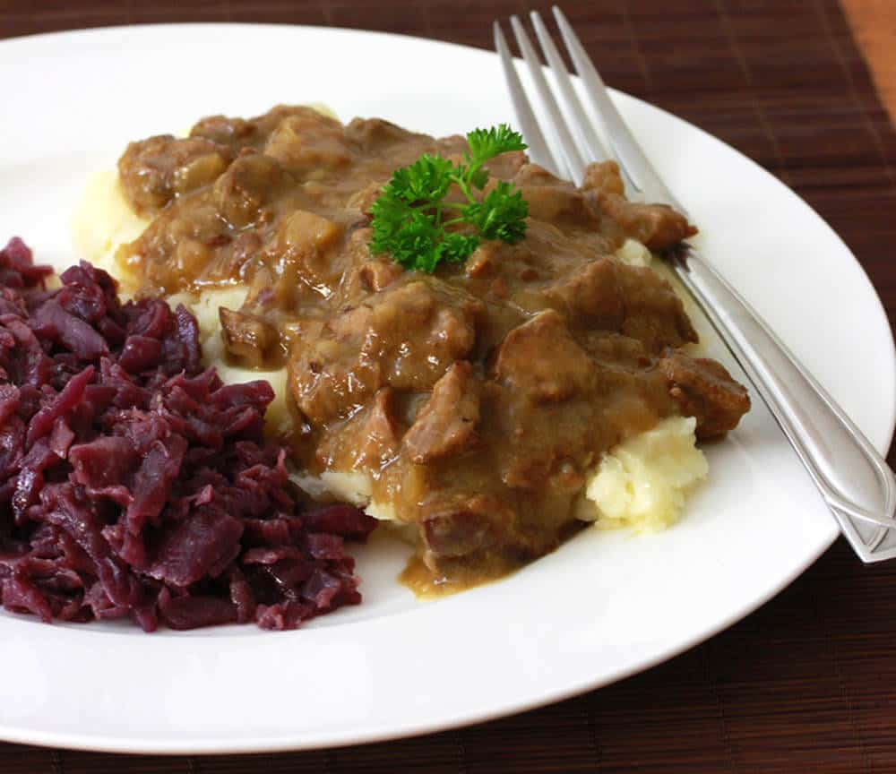 Hachee (Dutch Beef & Onion Stew) - The Daring Gourmet