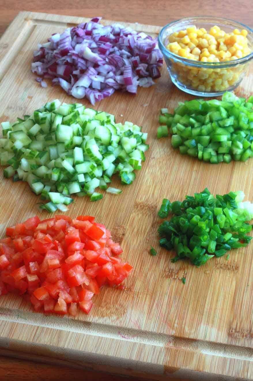 Wheat Berry Salad prep 3