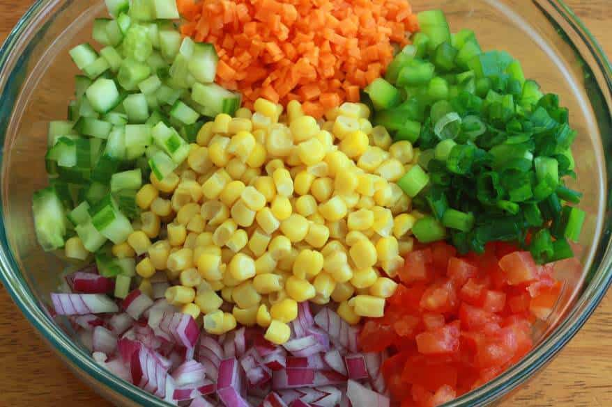 Wheat Berry Salad prep 6