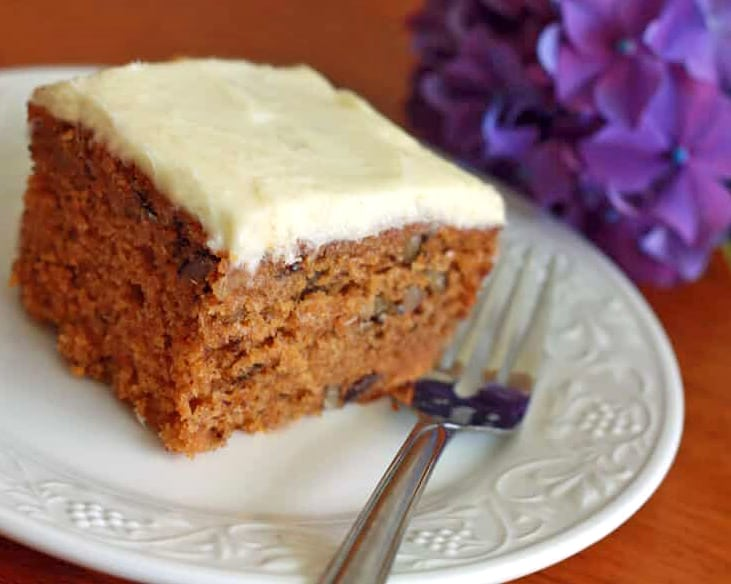 Pureed Carrot Cake Recipes