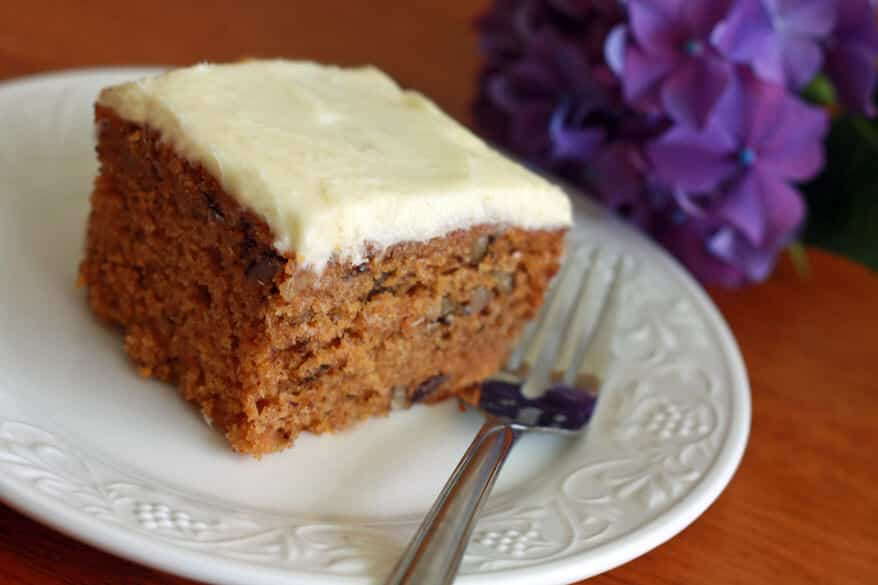 carrot cake old fashioned recipe classic cream cheese frosting