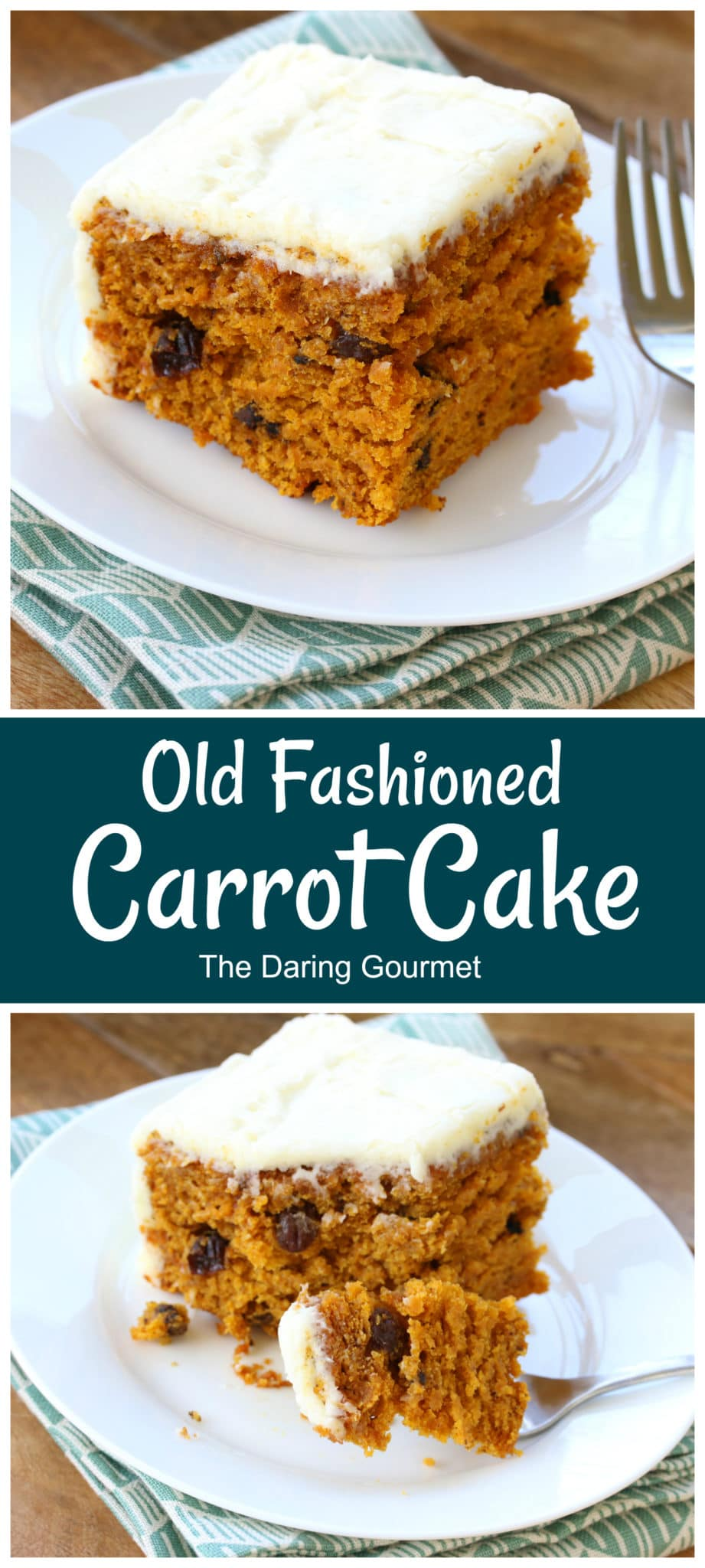 carrot cake recipe best old fashioned traditional easy cream cream frosting