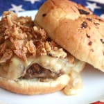 Chicken Fried Steak Burgers with Vidalia Onion Gravy