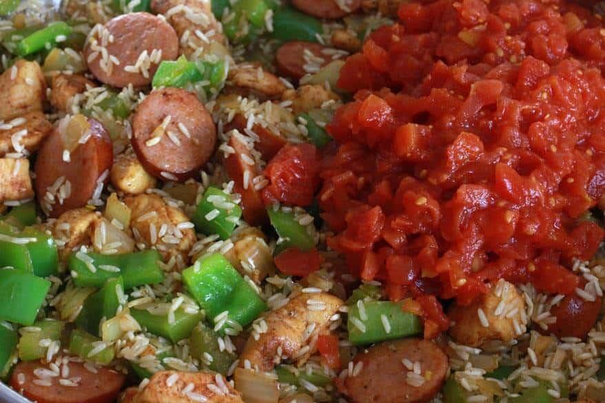 New Orleans Jambalaya Recipe new orleans jambalaya - the daring ...