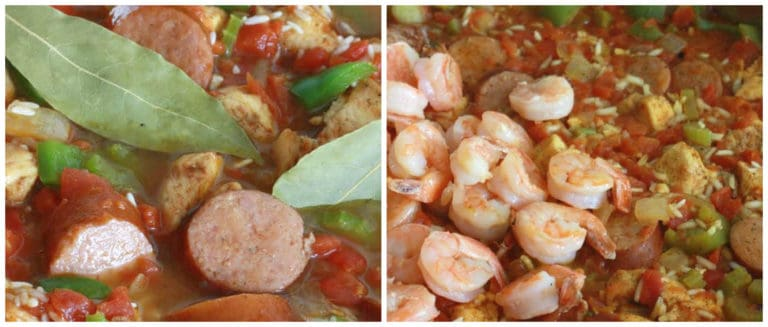 andouille sausage chicken shrimp rice creole