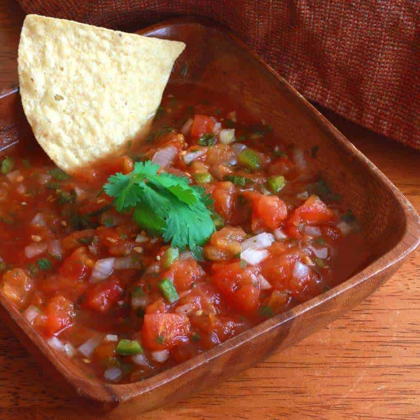 Restaurant Style Mexican Salsa