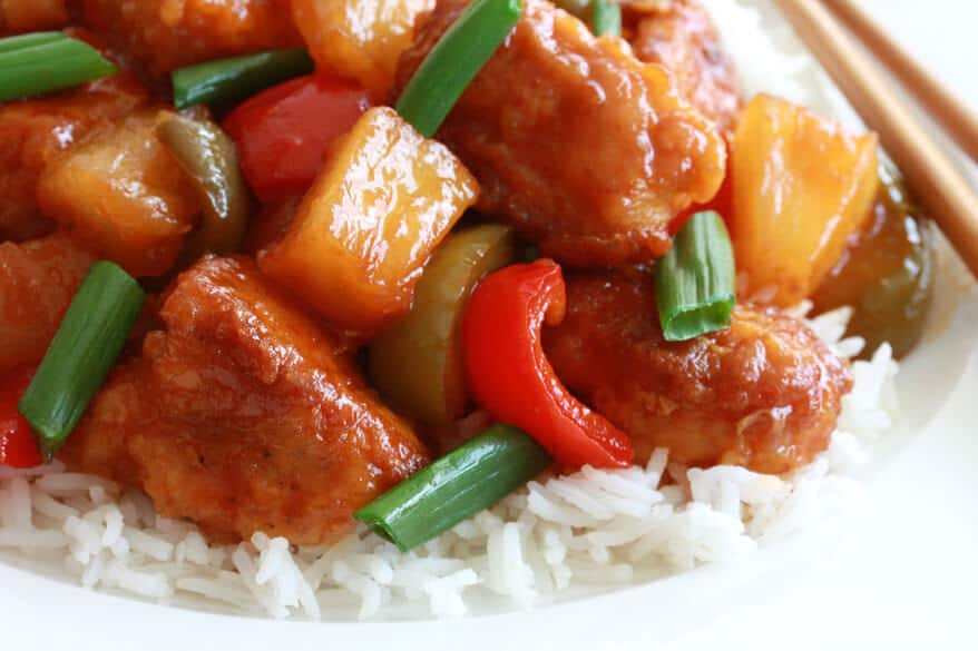 Sweet and Sour Chicken - The Daring Gourmet