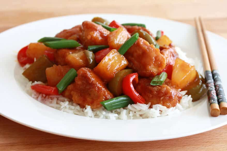 Asian chicken teriyaki