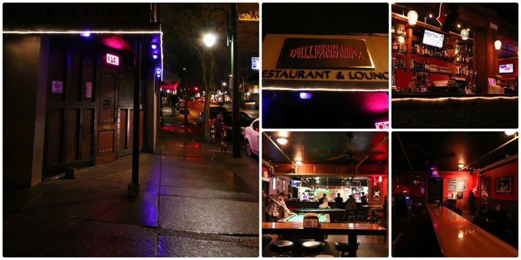 Dirty Oscar's Annex Tacoma restaurant review daring gourmet