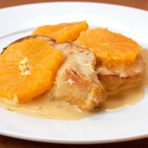 Pan-Seared Chicken With Creamy Orange Sauce