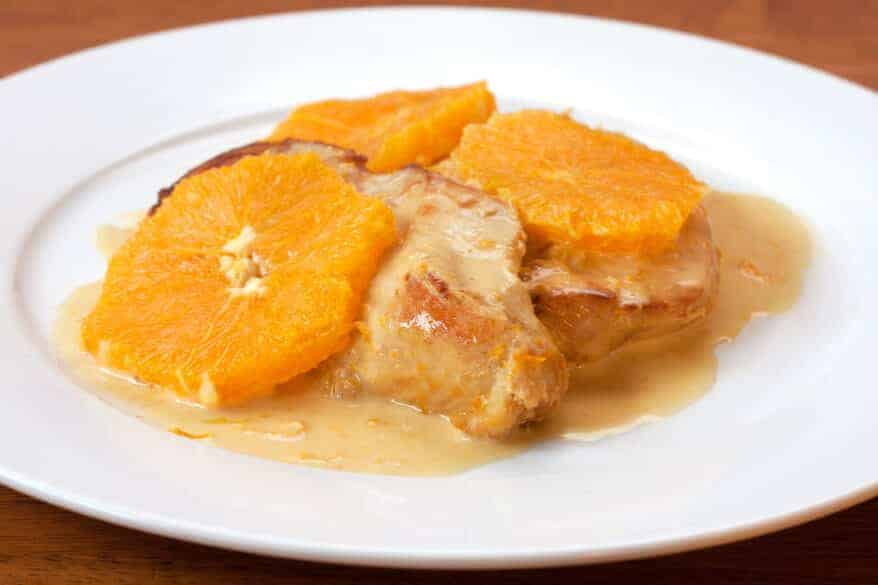 Pan-Seared Chicken With Creamy Orange Sauce - The Daring Gourmet