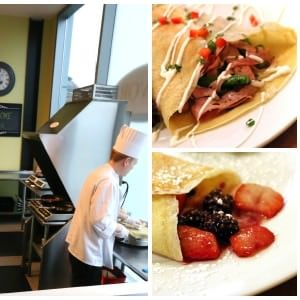 The Daring Gourmet Dines Out:  Savor Creperie, Tacoma