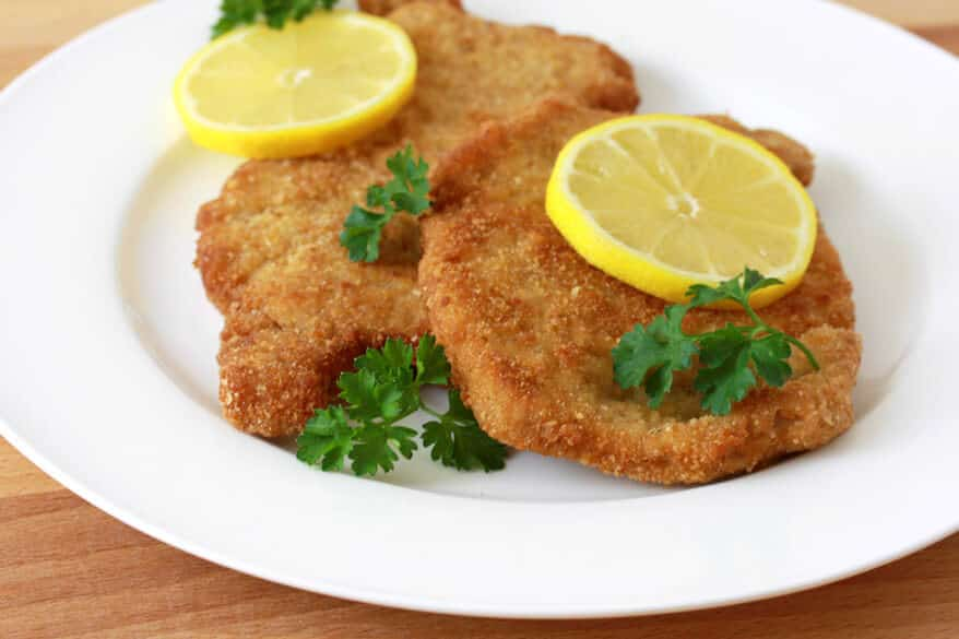 schnitzel recipe pork traditional authentic German Austrian