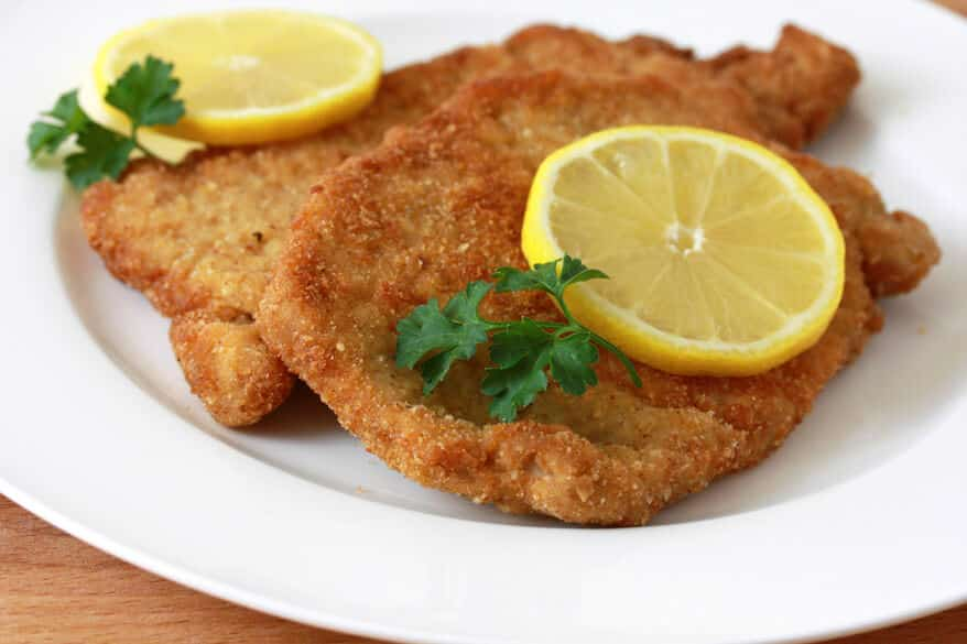 ... pan seared spaetzel easy homemade pork schnitzel pork schnitzel 1 jpg