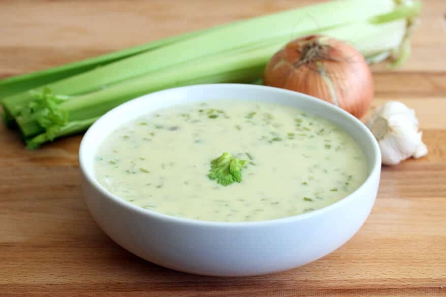 Cream of Celery Soup recipe from scratch homemade best copycat condensed