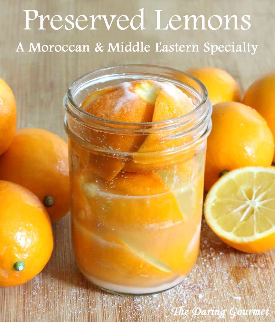 How To Make Preserved Lemons (A Moroccan/Middle Eastern Specialty)
