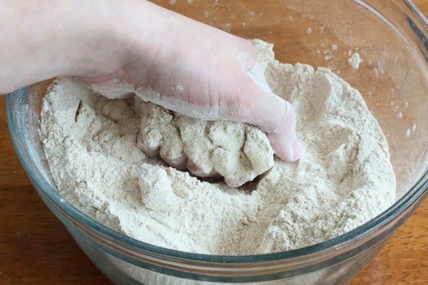 Spelt Buttermilk Biscuits prep 3