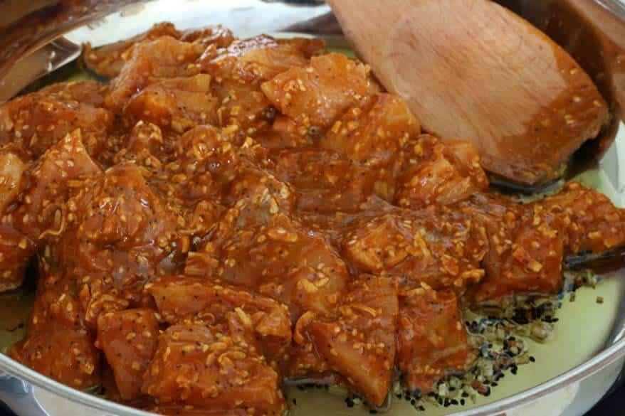 Balti Chicken prep 11