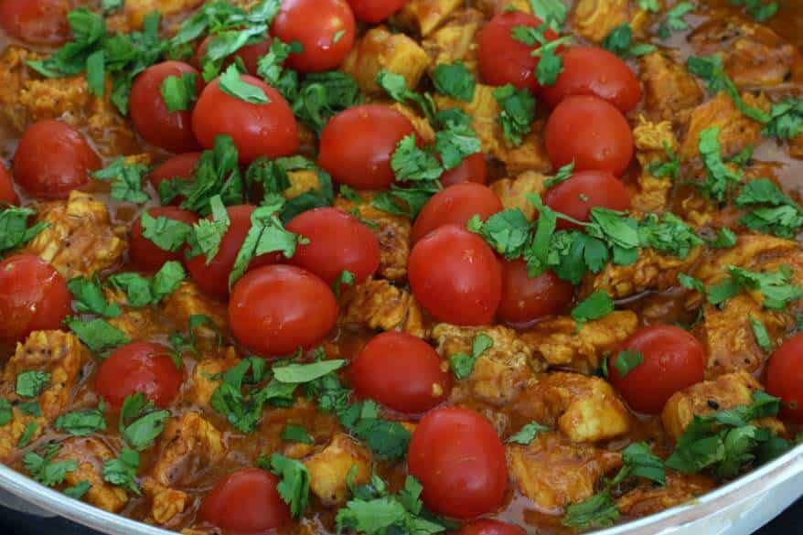 Balti Chicken prep 13