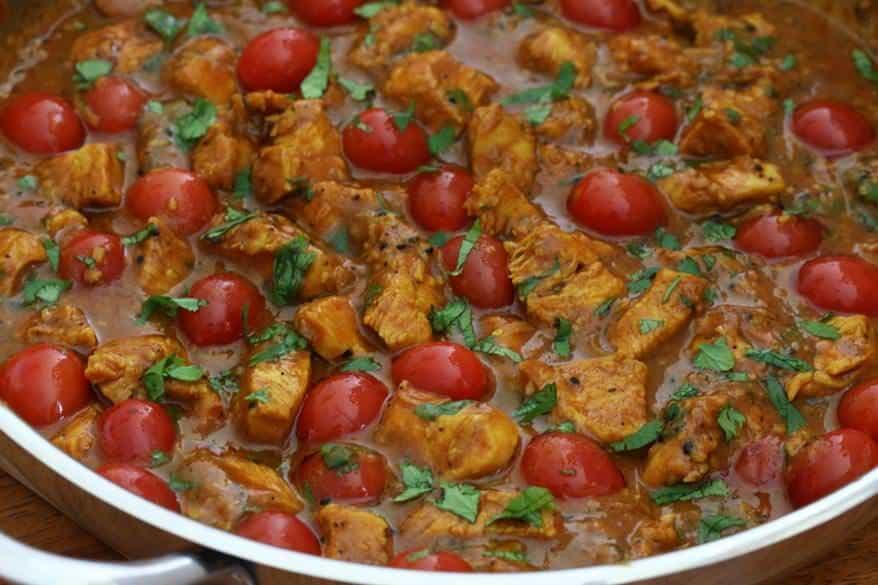 Balti Chicken prep 14