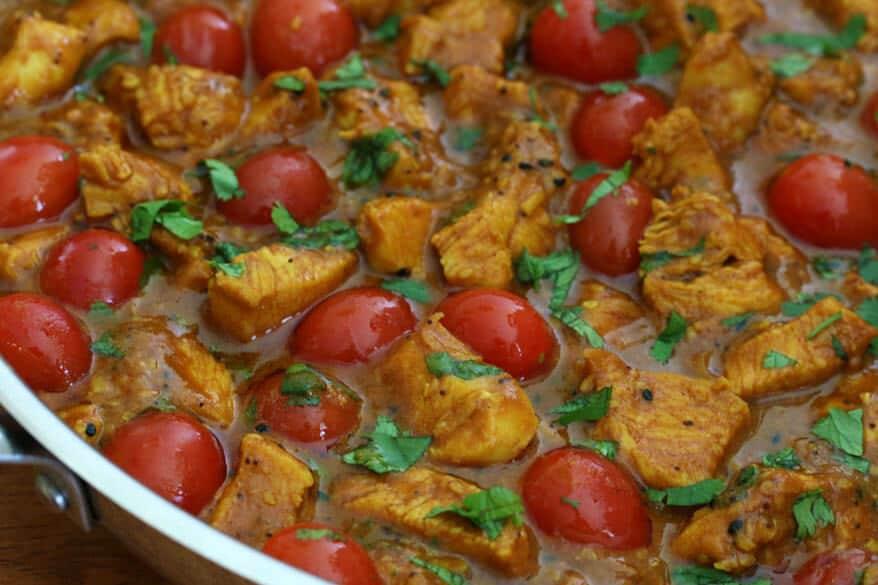Balti Chicken prep 15