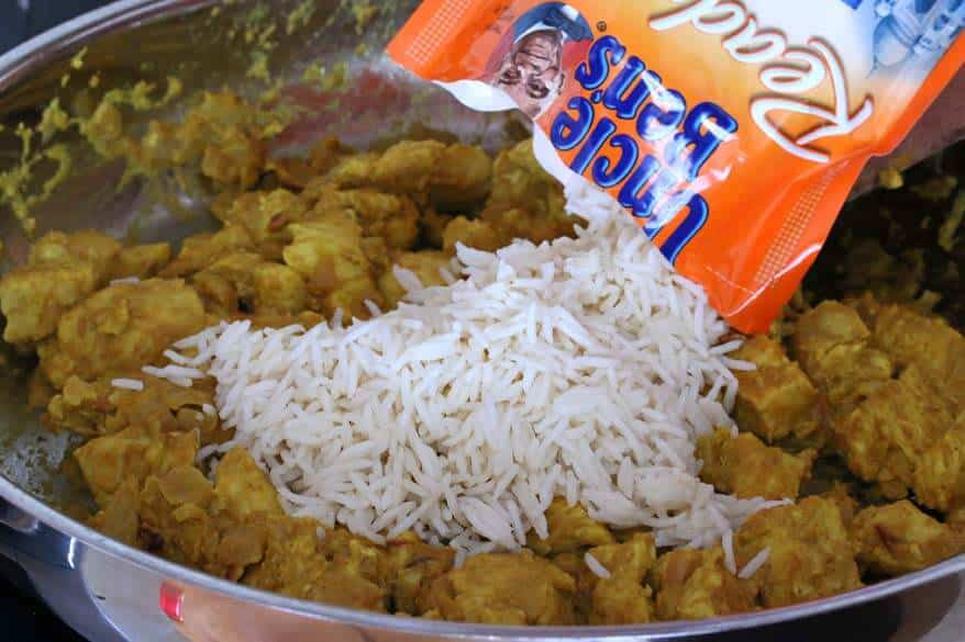 Easy Chicken Biryani prep 7