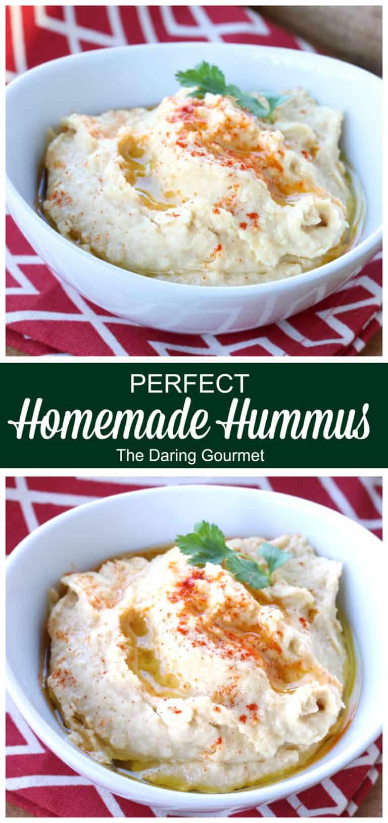 hummus recipe best homemade