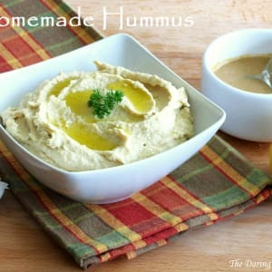 Creamy Hummus with Homemade Tahini Paste
