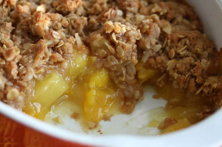 Mango Pineapple Crumble 3
