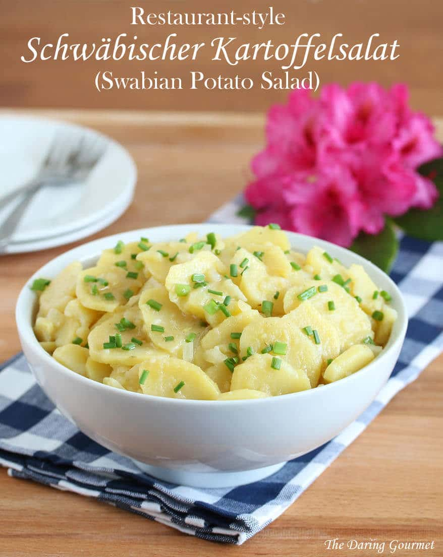 german swabian potato salad recipe authentic germany schwbischer rezept