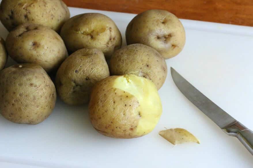 Swabian Potato Salad prep 1