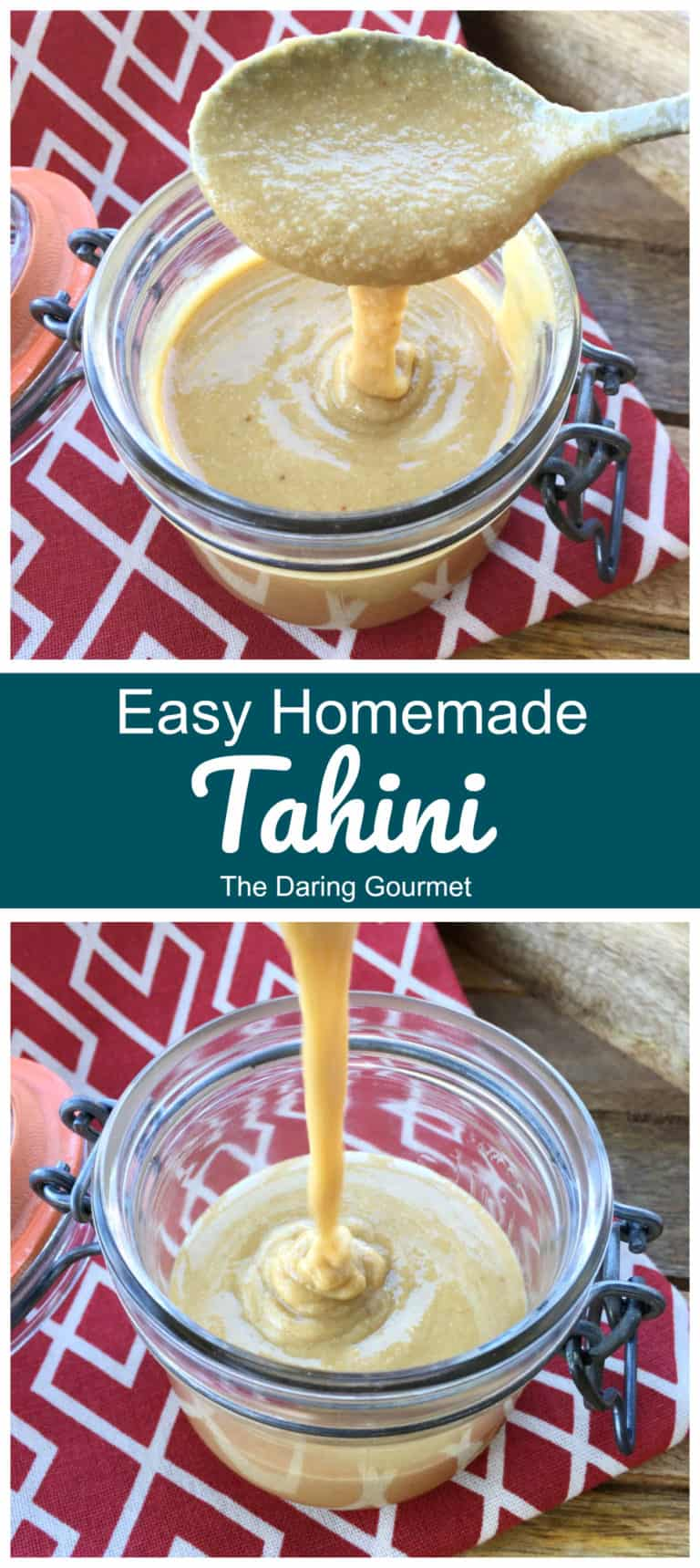tahini recipe best homemade easy sesame