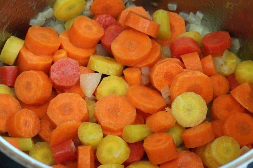Carrot Anise Soup prep 3