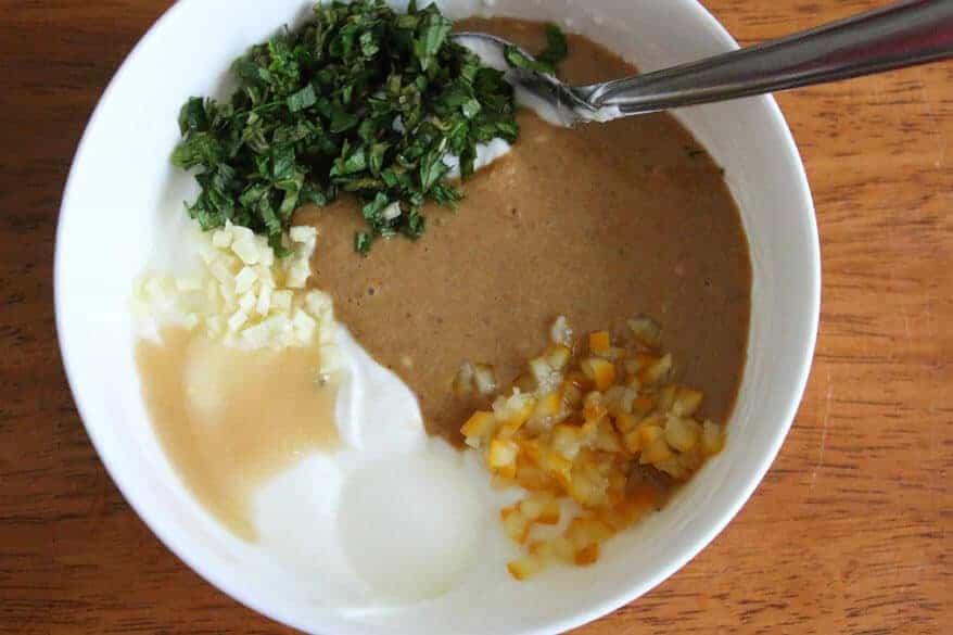 Chicken Kabobs with Tahini Yogurt Sauce prep 7