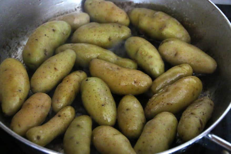 Fingerling Potatoes prep 1