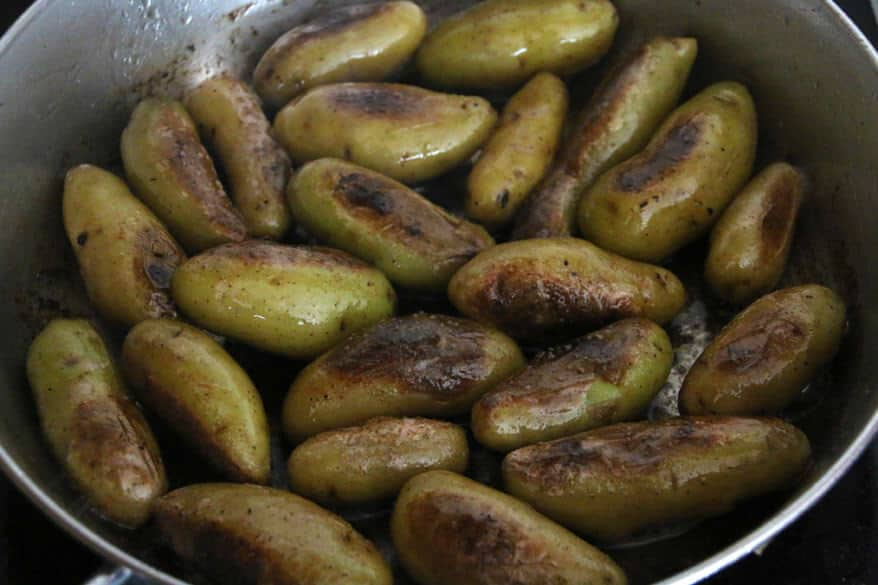 Fingerling Potatoes prep 2