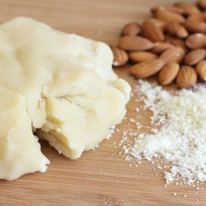 BEST Homemade Marzipan or Almond Paste