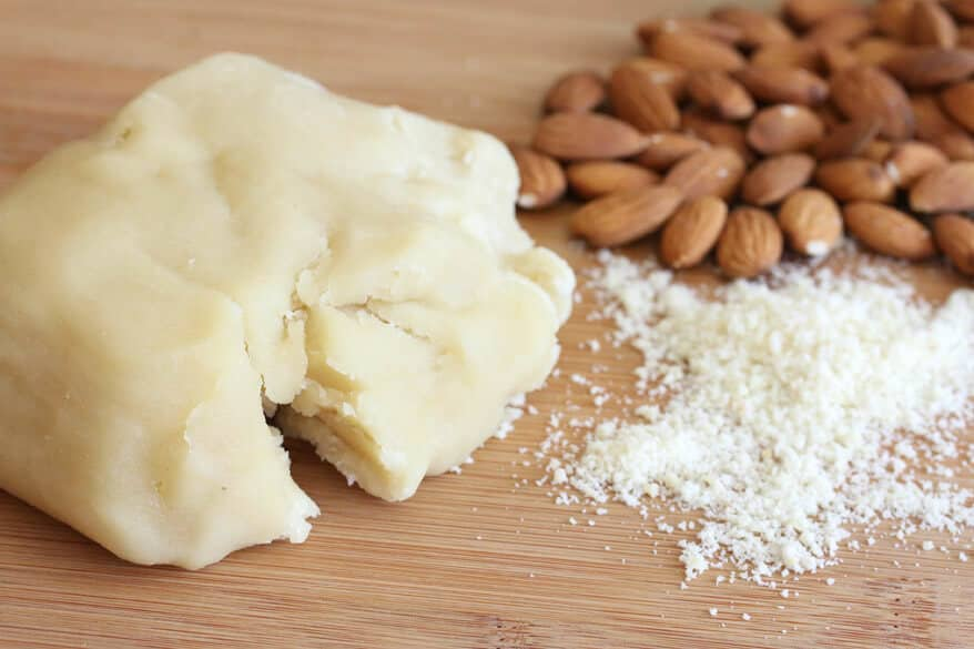 almond paste vs marzipan