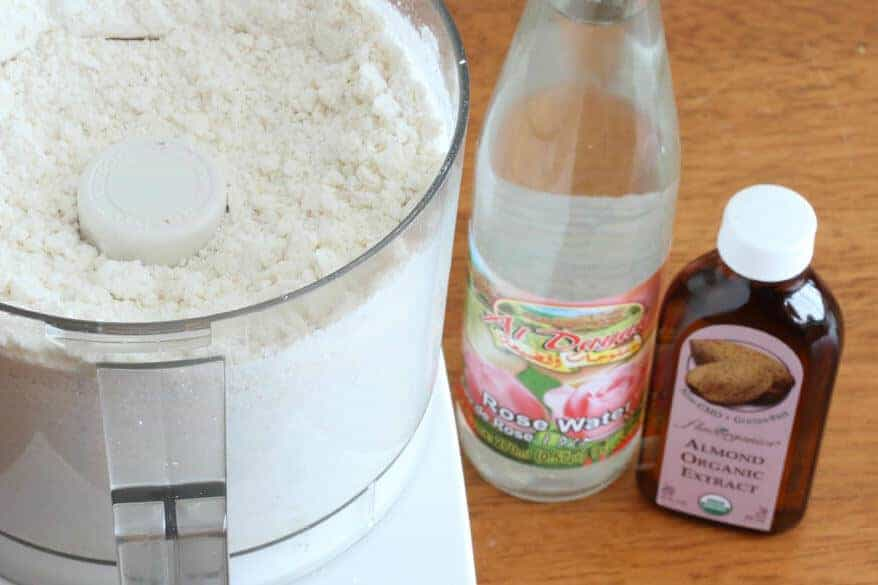Homemade Almond Paste prep 3
