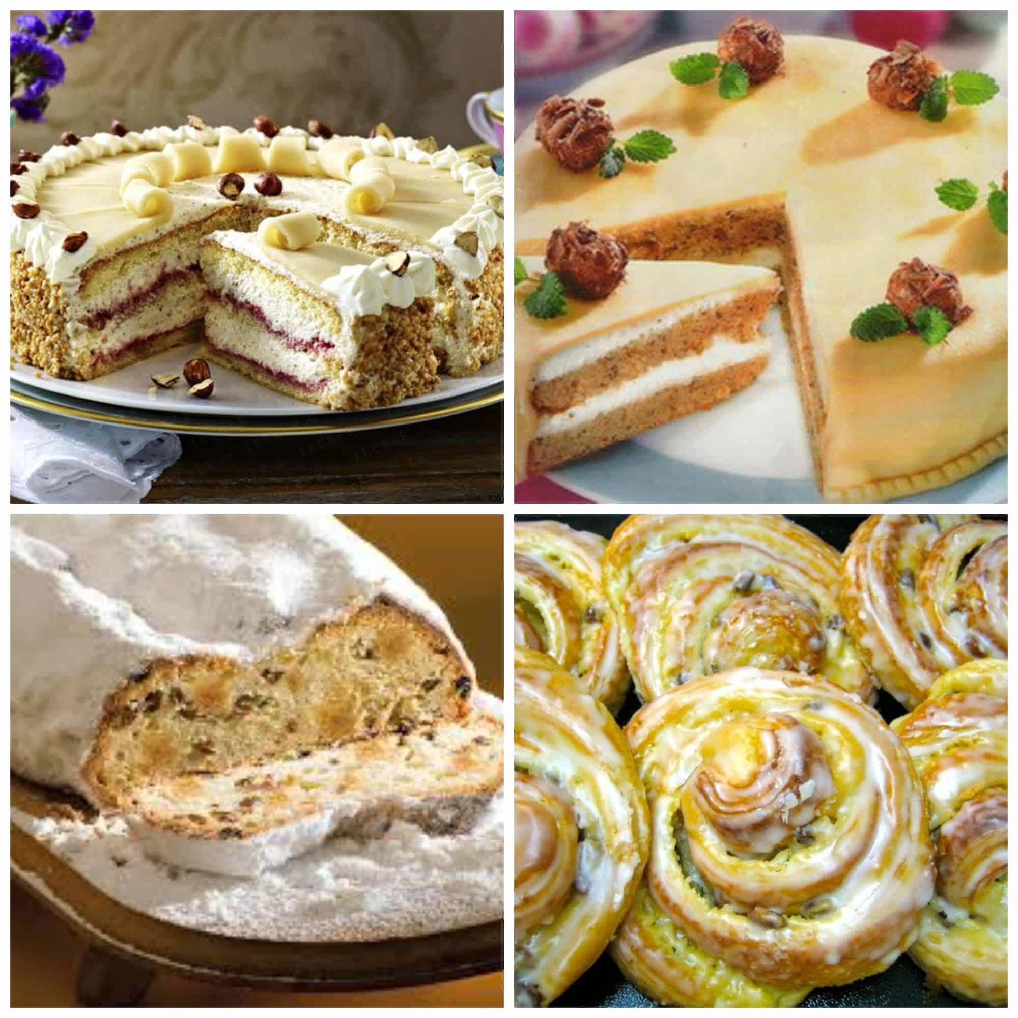 Marzipan Baked Goods