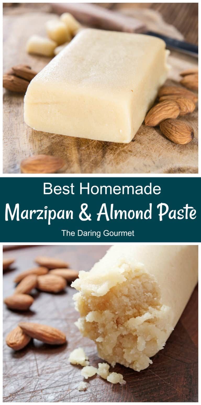 marzipan recipe homemade almond paste easy best