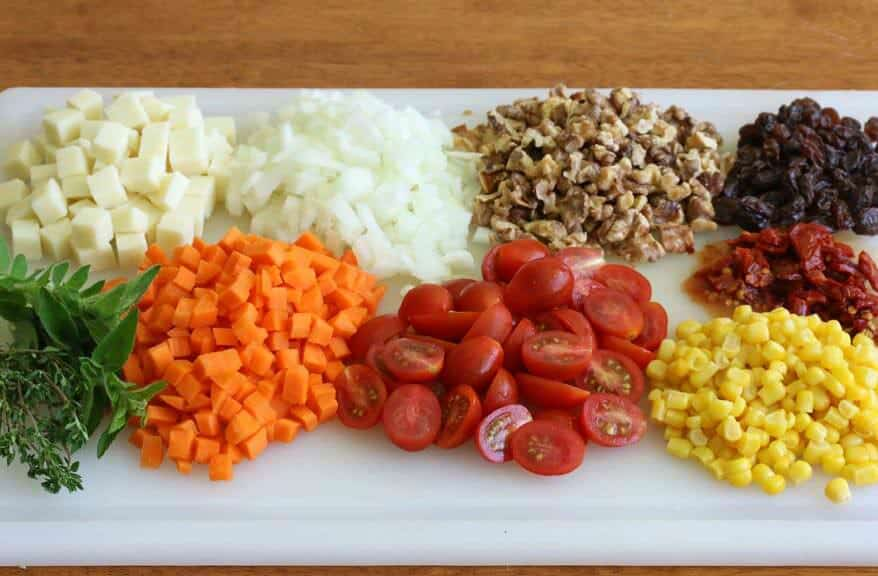 Mexican Wheat Berry Salad prep 3