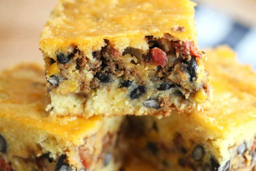 Stuffed Mexican Cornbread 1