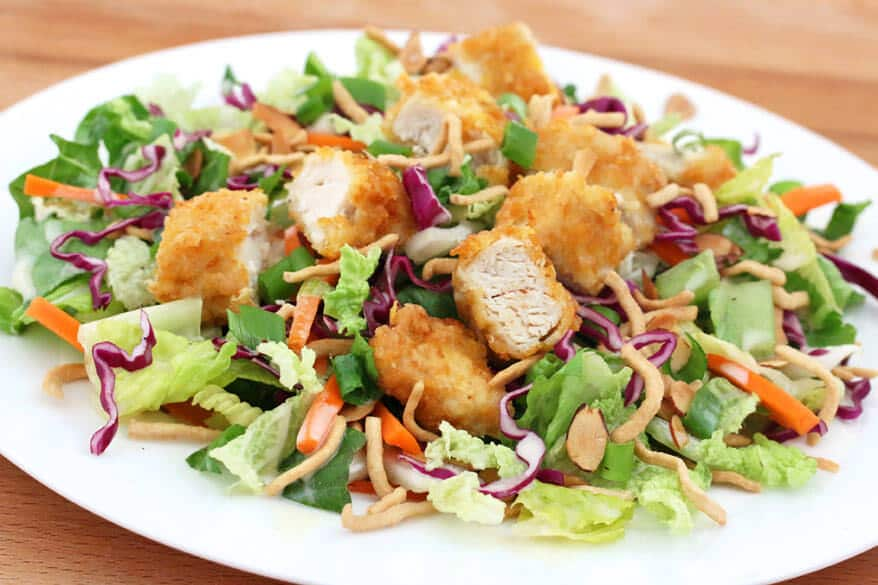 Applebees Asian Chicken Salad Copycat - The Daring Gourmet