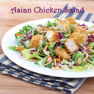 Asian Chicken Salad {Applebee's Copycat Recipe}