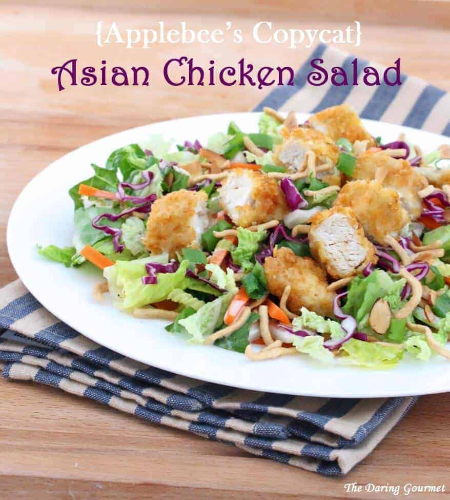 Oriental chicken salad recipe applebees