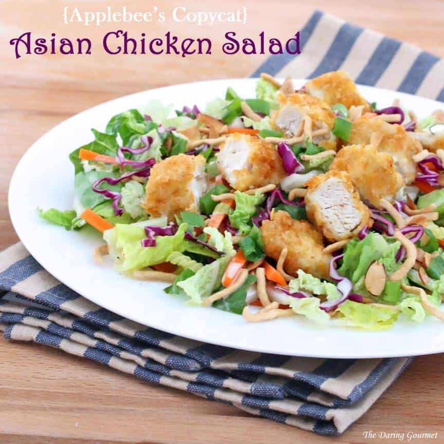 Applebee's Asian chicken salad copycat recipe