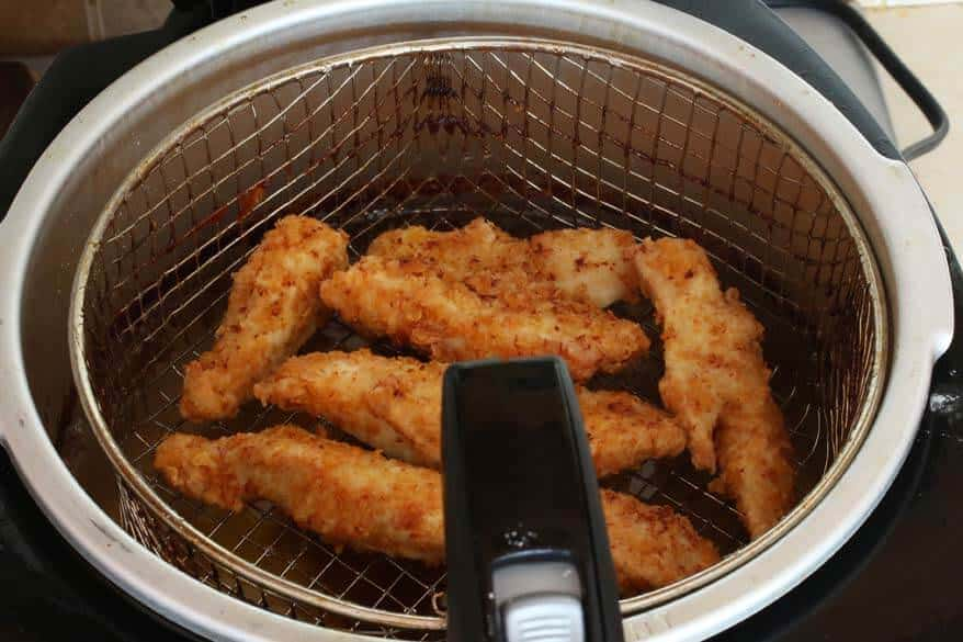 Asian Chicken Salad prep 9